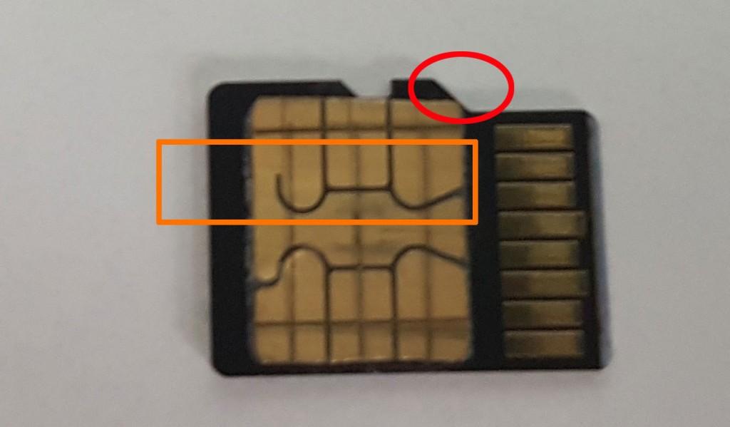 cum se lipeste cartela de cardul de memorie