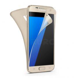 Folie de plastic pentru Samsung Galaxy S7 edge culoare gold
