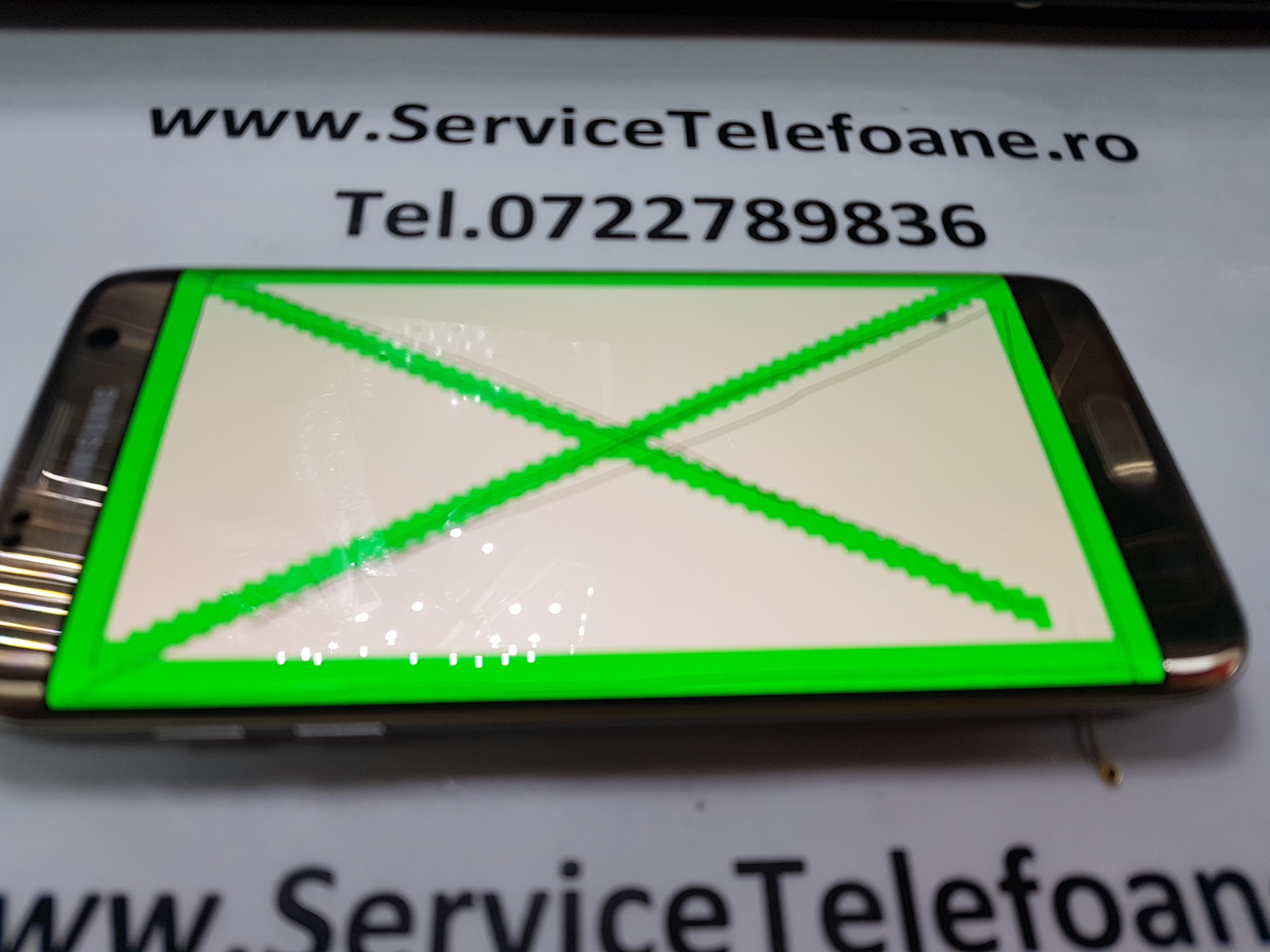ecran,afisaj,display, LCD Samsung Galaxy S7 edge gold