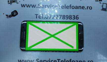 Schimbat geam la display de  Samsung Galaxy S7 edge