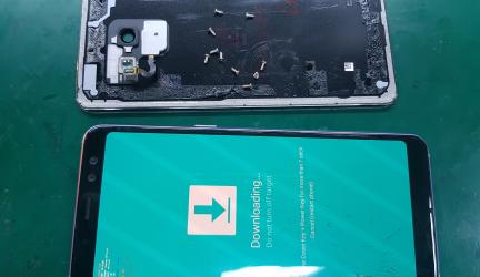 Samsung A8 2018 / A530 inlocuire sticla display